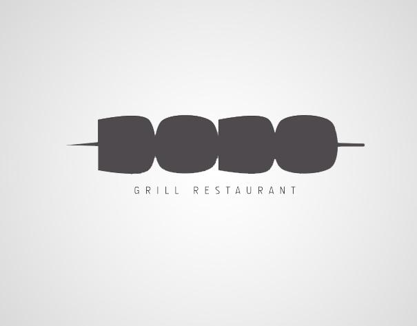 5 dodo grill restaurant - Creative Logo Design Ideas