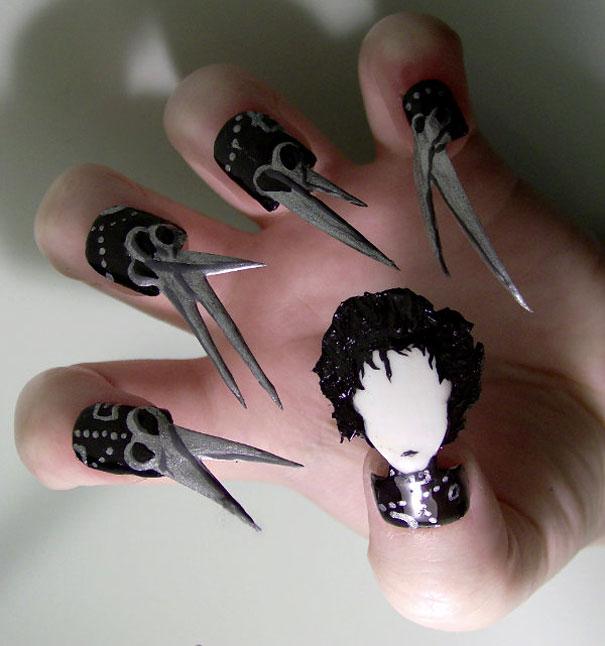Creative Nail Art By Kayleigh Oconnor Bored Panda