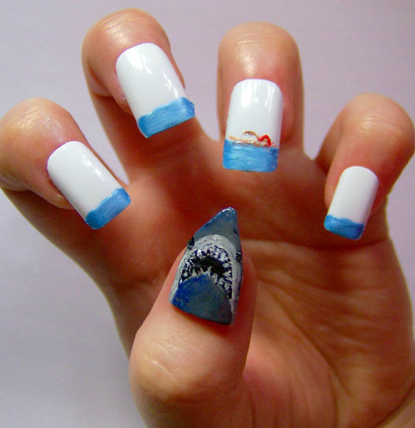 Creative Nail Art By Kayleigh O Connor Bored Panda