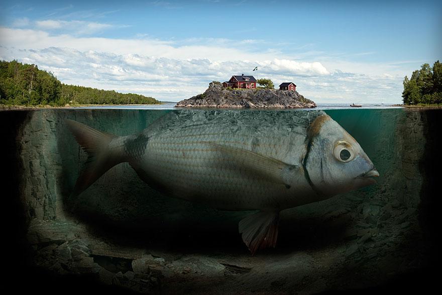 18 Brilliant Photo Manipulations By Erik Johansson Bored