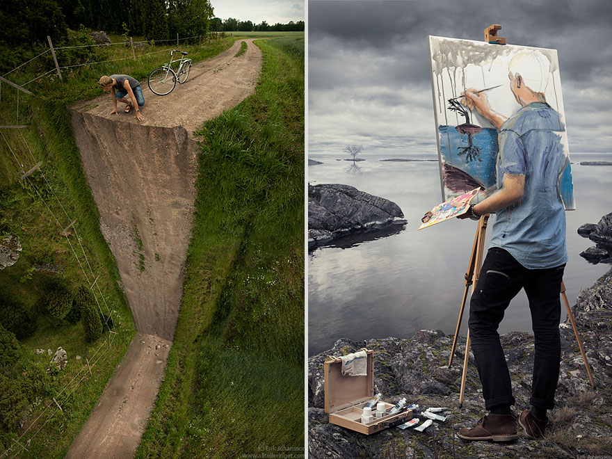 18 Brilliant Photo Manipulations By Erik Johansson Bored