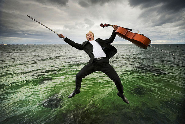 Non Classical Portraits of Classical Musicians