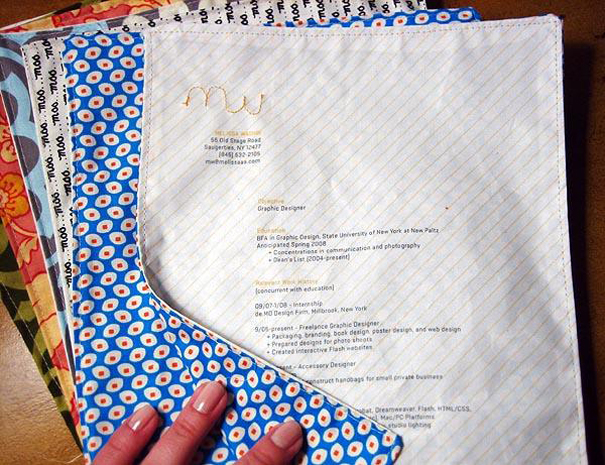 15 Cool and Creative Resumes