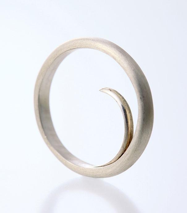 Oversized Brass Finger Rings