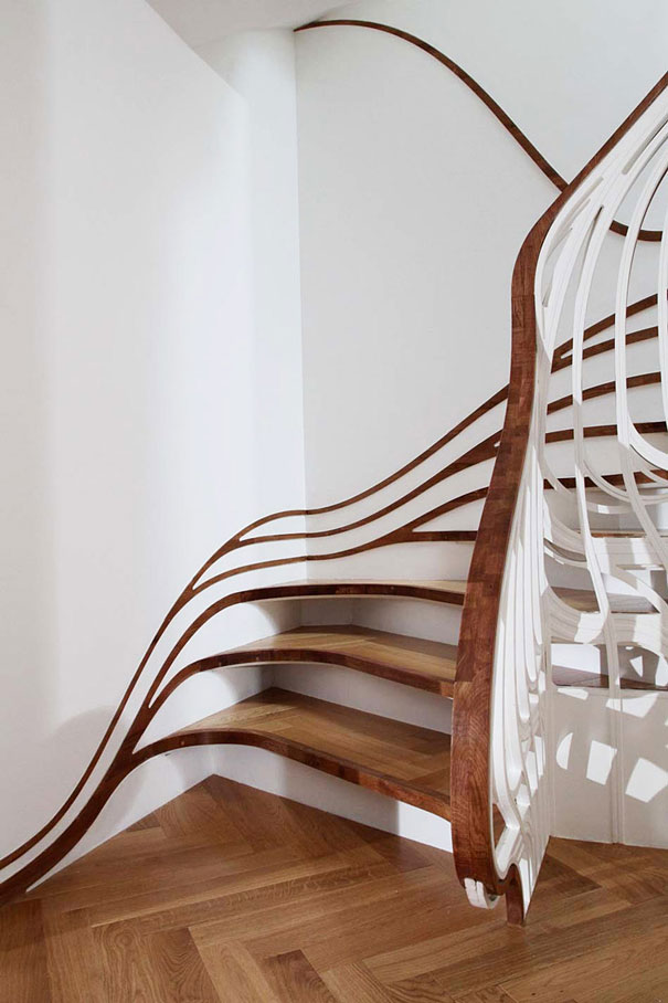 25 Unique and Creative Staircase Designs | Bored Panda