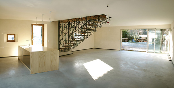 25 unique and creative staircase designs bored panda for Modern stairs tiles design building work latest technology