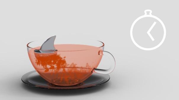 15 cool and creative tea infusers bored panda - Infuseur a the rigolo ...