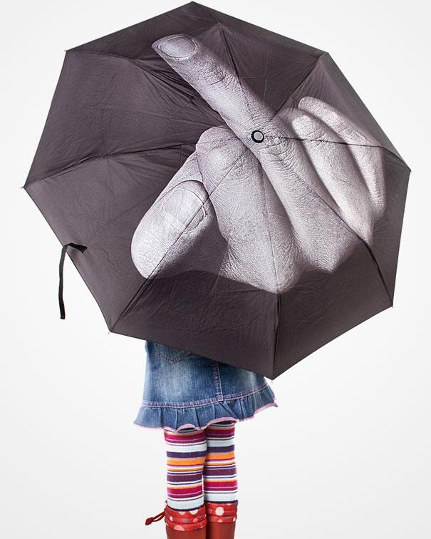 F Ck The Rain Umbrella