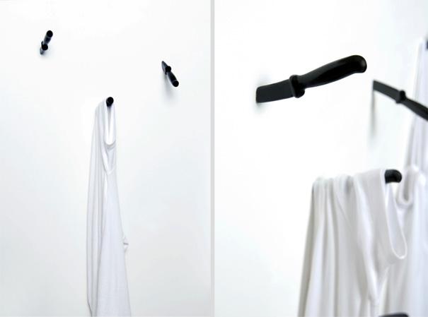 knife hooks - Stylish Wall Hooks