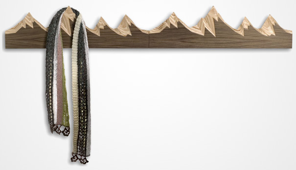 15 mountain coat range - Creative Hat Racks