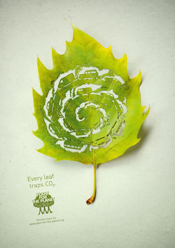 Cut-Away Leaf Art by Lorenzo Duran  Bored Panda