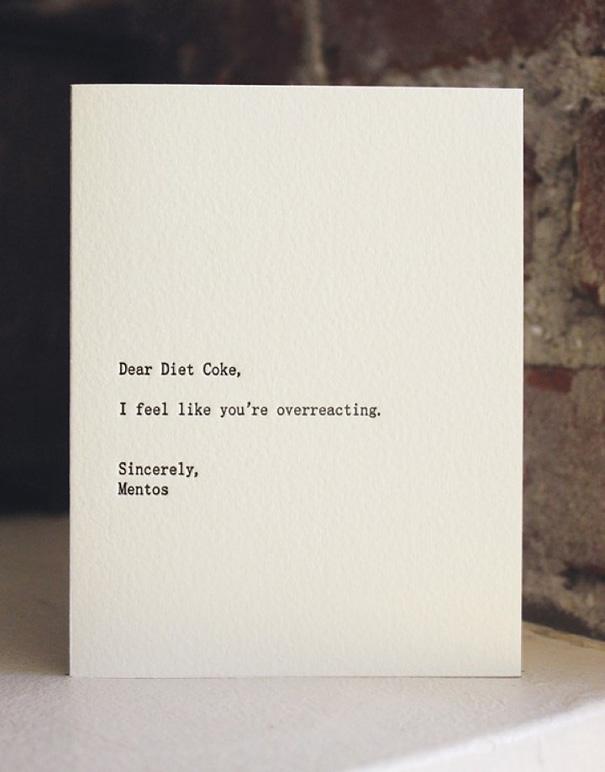 21 Funny Dear Blank, Please Blank Letters
