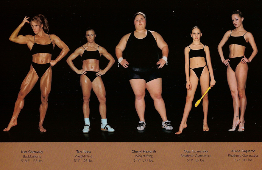 The Body Shapes Of The Worlds Best Athletes Compared Side By Side
