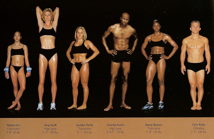athlete bodies olympic Female