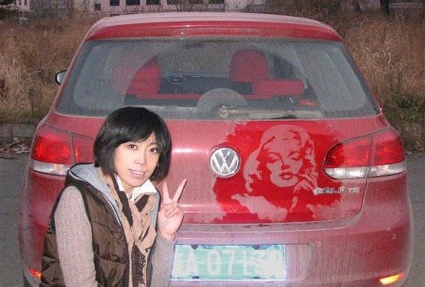 Dirty Car Art by Tamara Navarro