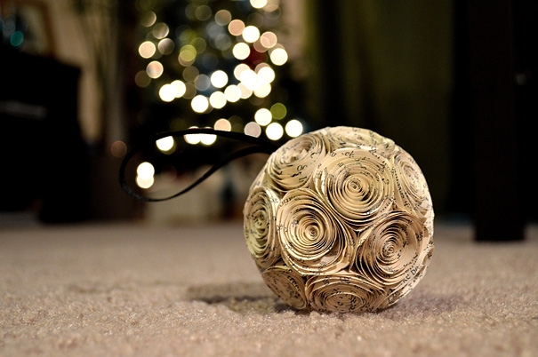 20 creative diy christmas ornament ideas bored panda - Deco de noel naturelle ...