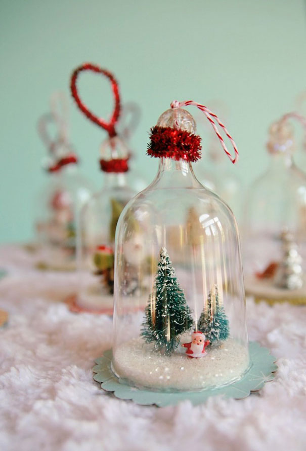 bell jar ornaments