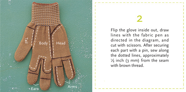 How To Turn A Glove Into A Chipmunk Bored Panda