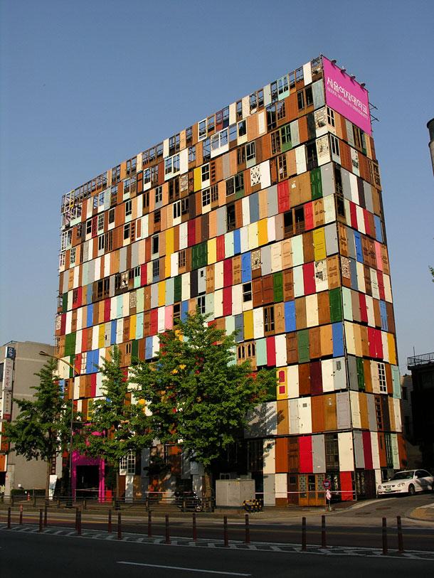 1,000 Door Building in South Korea