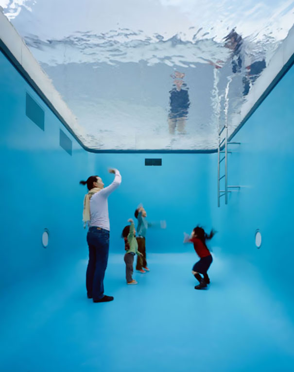 Fake Swimming Pool By Leandro Erlich Bored Panda