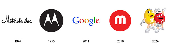 the past and the future of famous logos bored panda