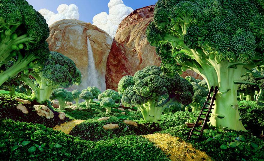 """Résultat de recherche d'images pour """"carl warner food art"""""""