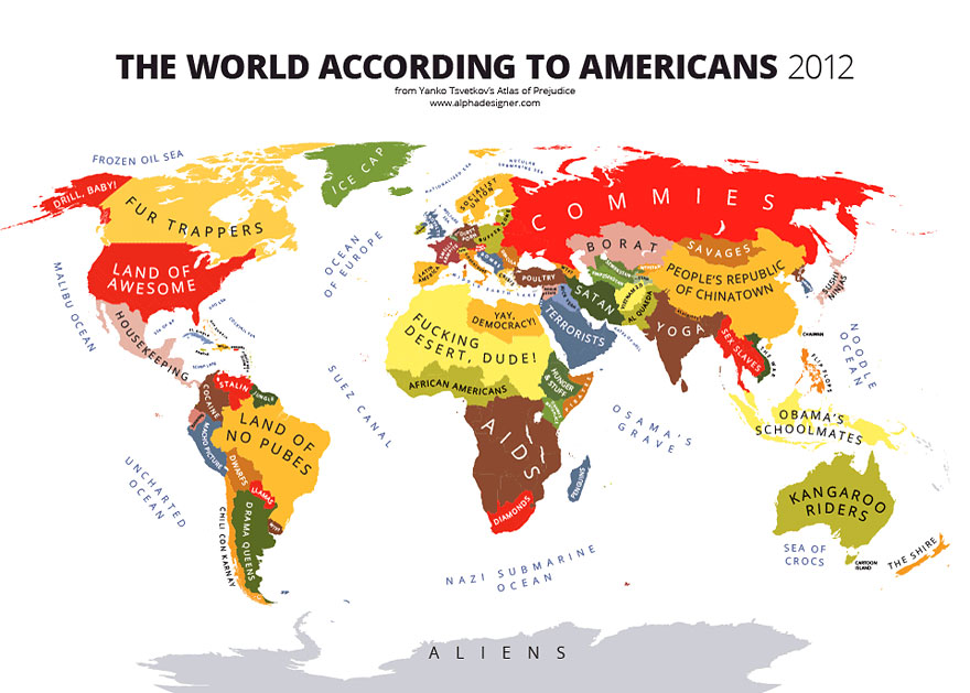 American Charms As The Most Funny Country