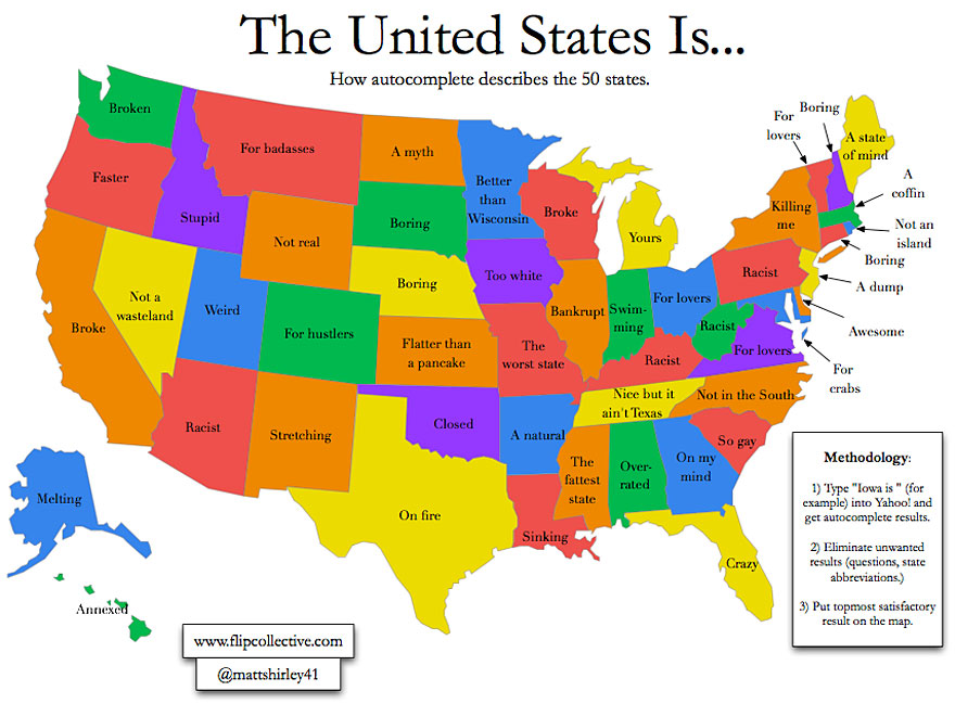 Maps They Didnt Teach You In School Bored Panda - Show map of the us