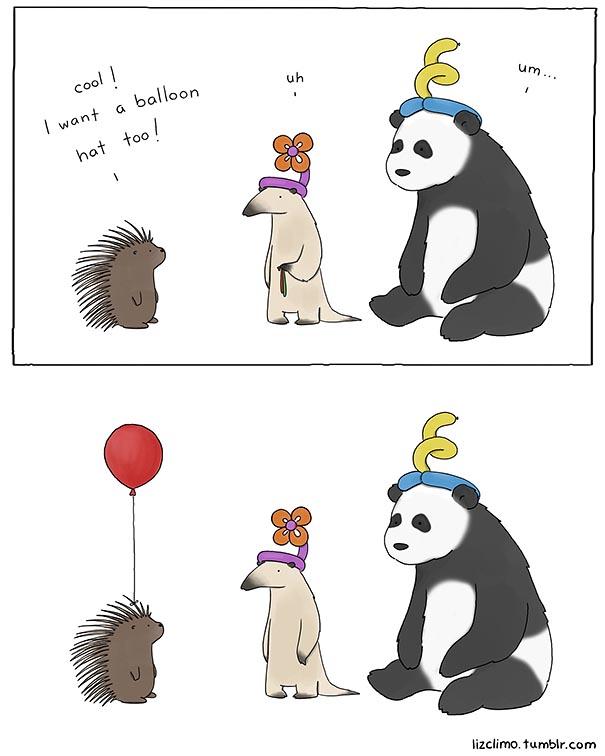 Simpsons animator liz climo creates incredibly cute animal comics on tumblr bored panda