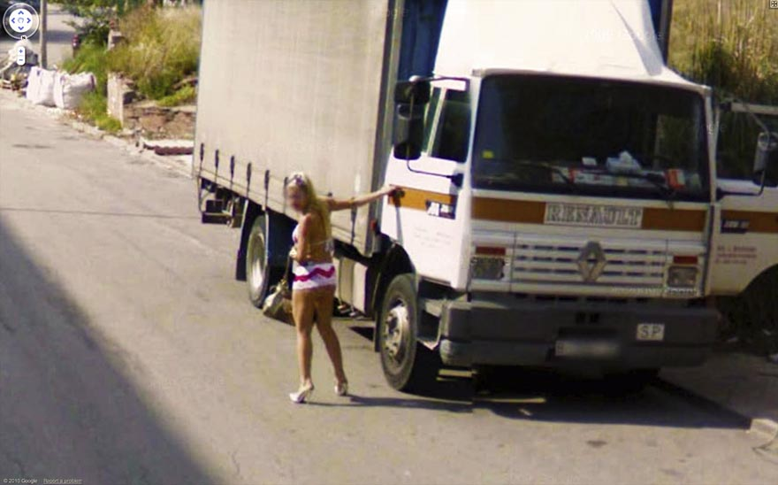 Crazy google street view images