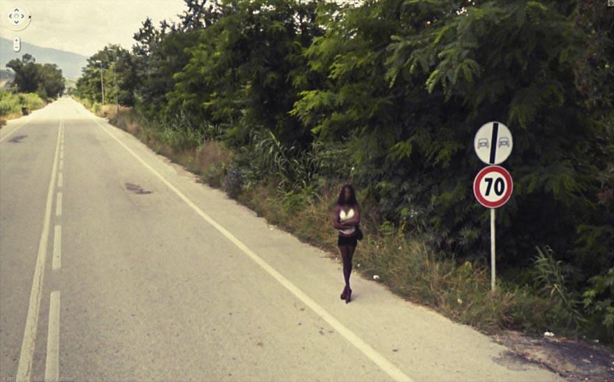 36 Strange and Funny Google Street View Photos | Bored Panda