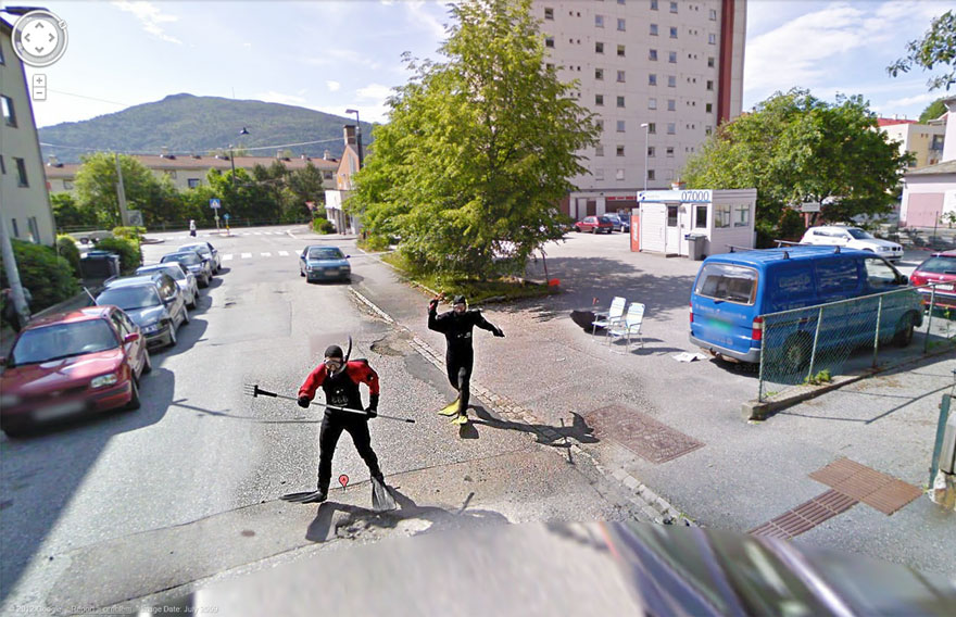 36 Strange And Funny Google Street View Photos Bored Panda