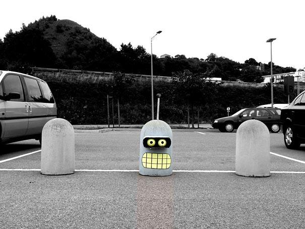 15 Creative Street Art Ideas from OakoAk