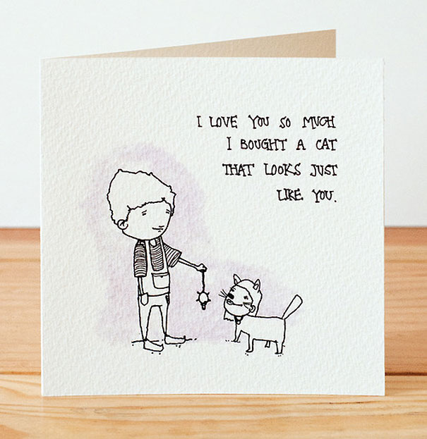 Creepily Cute Valentines Day Cards – Hilarious Valentines Card