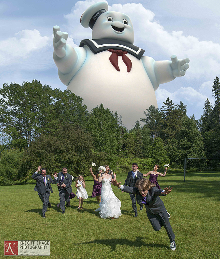 Newest Trend Crazy Wedding Party Attack Pictures Bored Panda