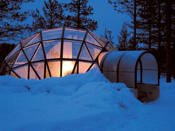 Glass Igloo Hotel In Finland Bored Panda