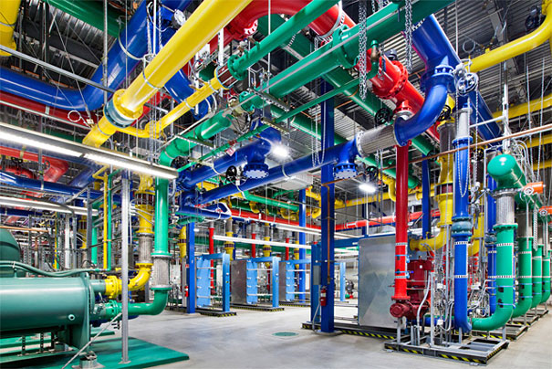 Where the Internet Lives: Google Reveals Its Top-Secret Data Centers