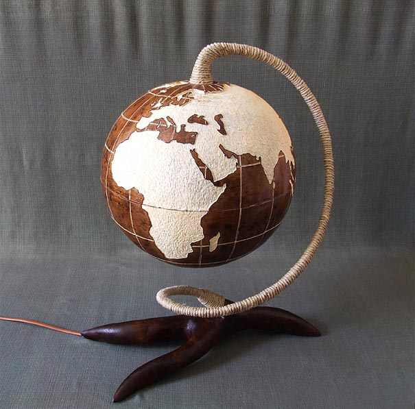 Stunning Gourd Lamps By Calabarte Diy