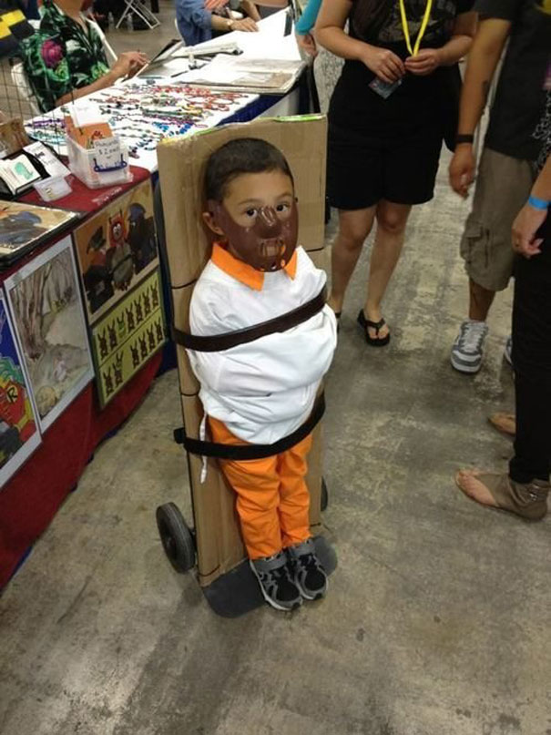 1. Hannibal Lecter from u201cSilence of the Lambsu201d : creative costumes for kids  - Germanpascual.Com