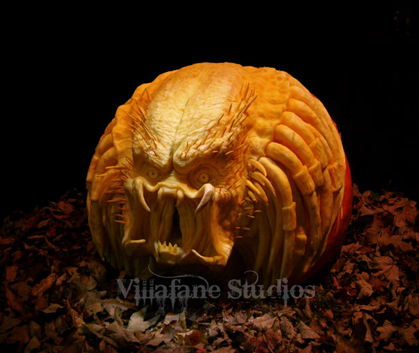 Halloween Pumpkin Carvings Ray Villafane