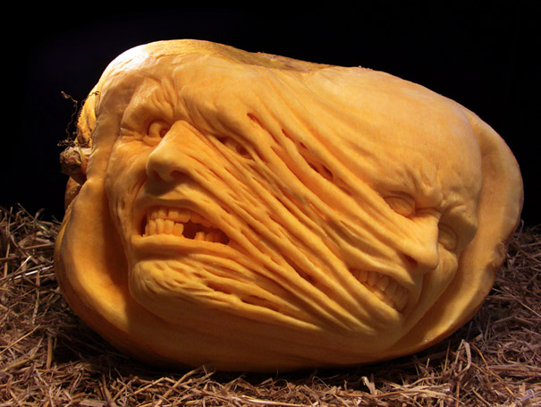 Amazing pumpkin carvings by ray villafane bored panda