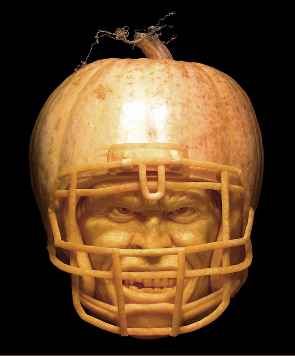 More Amazing Pumpkin Carvings By Ray Villafane Bored Panda