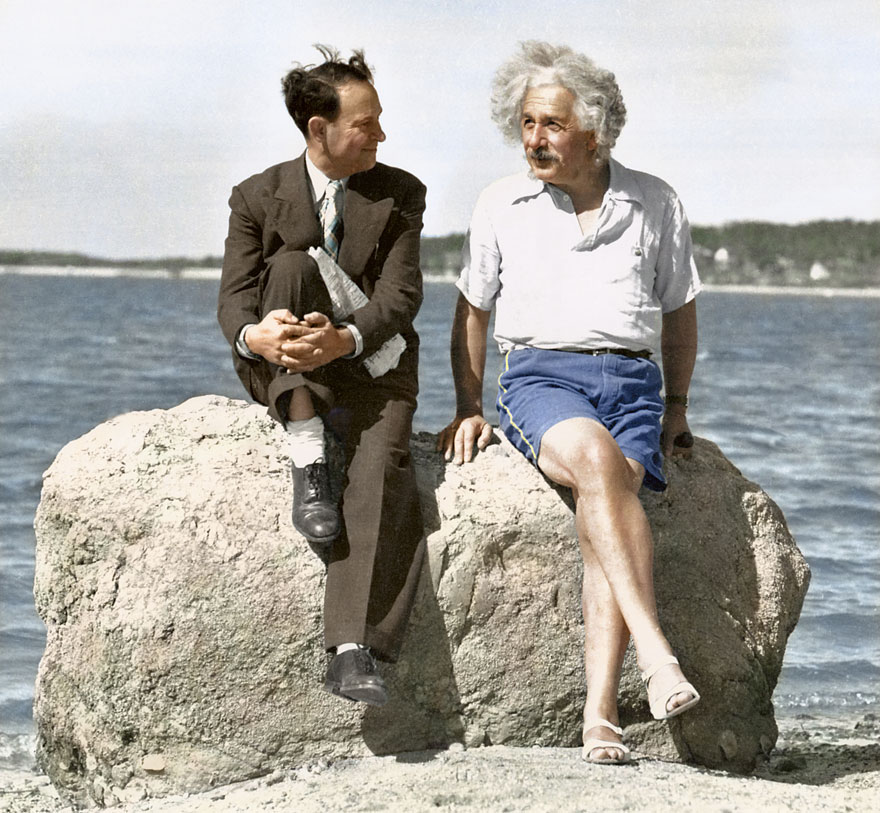 20 Historic Black and White Pictures Restored in Color (Part I)