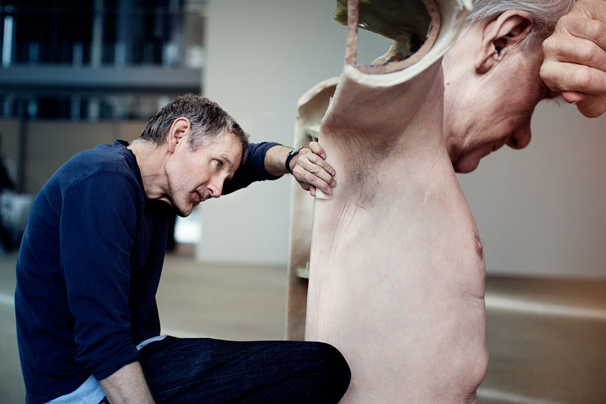 New Hyperrealistic Sculptures by Ron Mueck