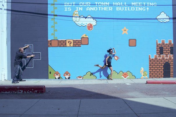 20 Clever Examples of Interactive Street Art