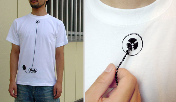 Interactive Shikisai T-Shirts From Japan