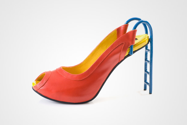 Are They Out of This Shoe World? Wild Shoes!!! by Kobi