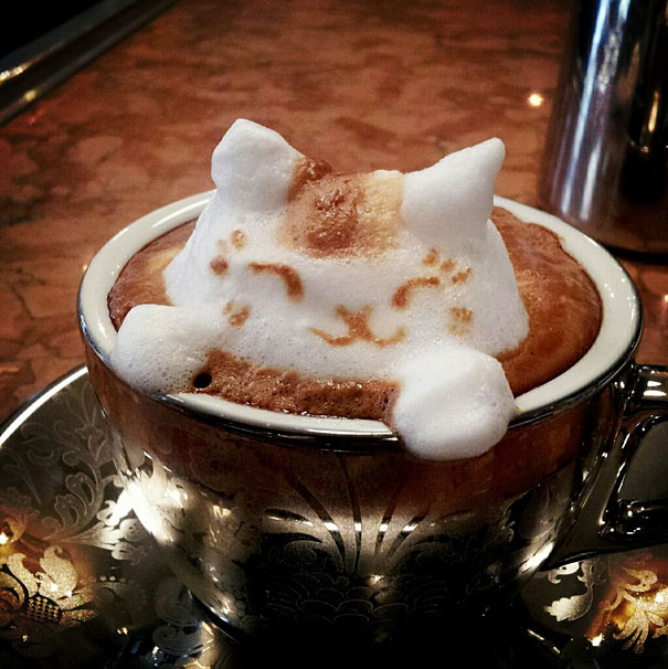 Incredible 3D Latte Art by Kazuki Yamamoto