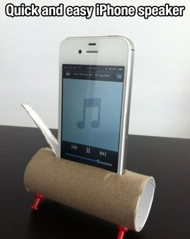 Bathroom towel holder stand - 40 Life Hacks That Will Change Your Life Bored Panda