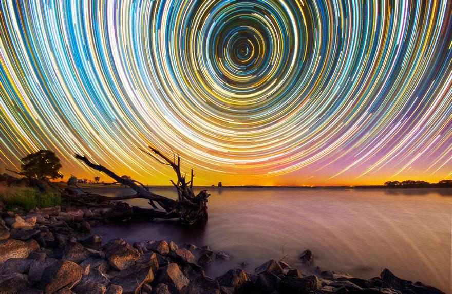 Stunning Long Exposure Shots of Australian Star Trails